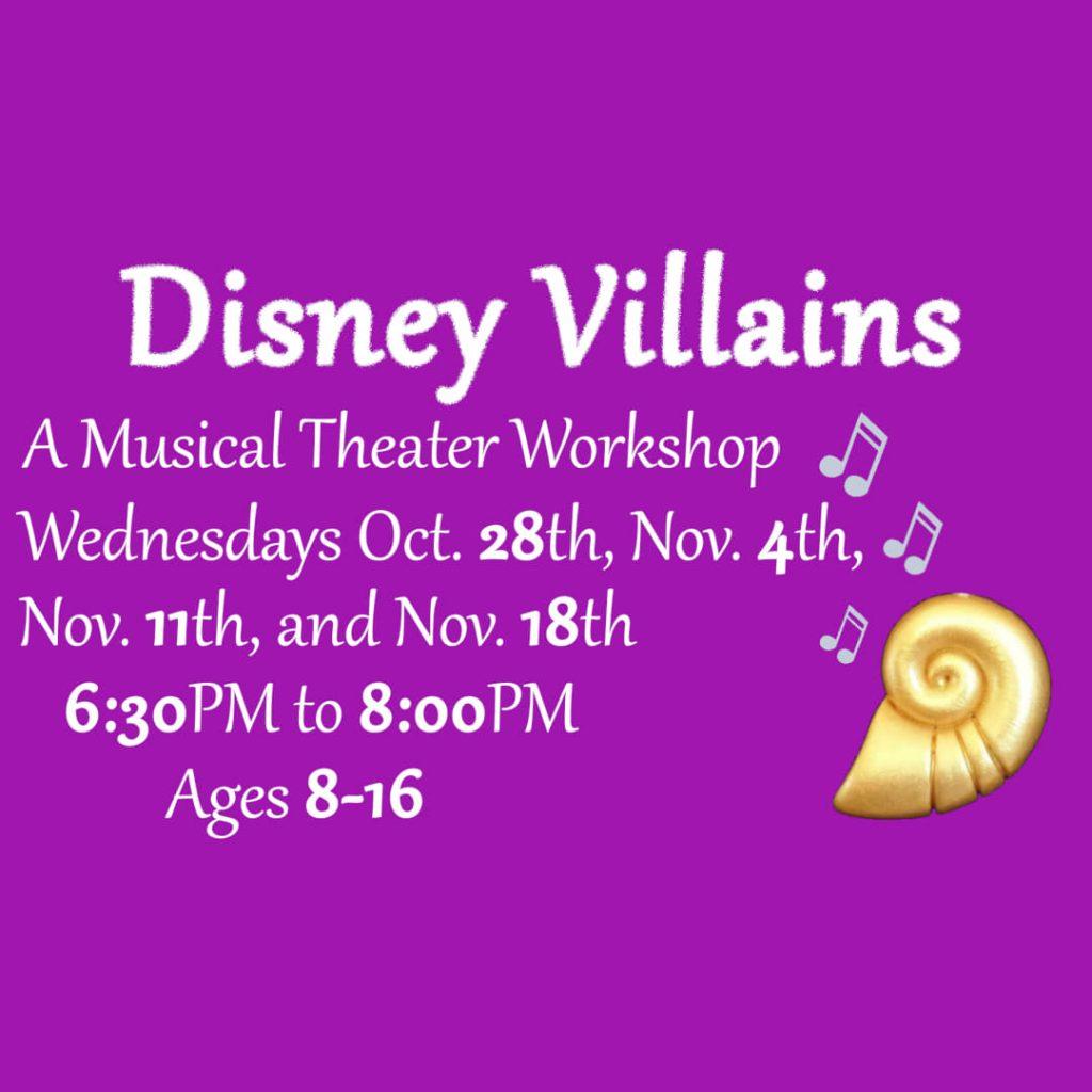 Disney Villain's Meet Every Wednesday